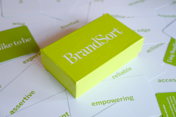 BrandSort Cards